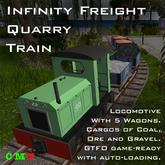 Infinity Freight - Quarry Train v1.0 -  1L$ Gift :)