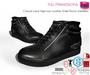 Full Perm Men's Casual Lace High-top Leather Ankle Boots Sneakers For Belleza Jake Slink Male Signature Gianni Ocacin