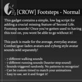 [CROW] Footsteps - Normal