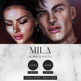 . MILA . Scars Of Battle (Catwa/Genus/Omega)