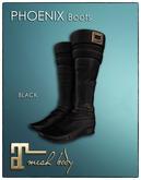[JANGKA] PHOENIX Boots Black [Maitreya]