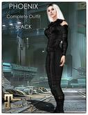 [JANGKA] PHOENIX Outfit Black [Maitreya]