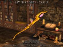 .: Runic :. Mythra Staff Gold