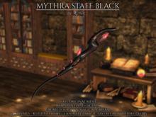 .: Runic :. Mythra Staff Black