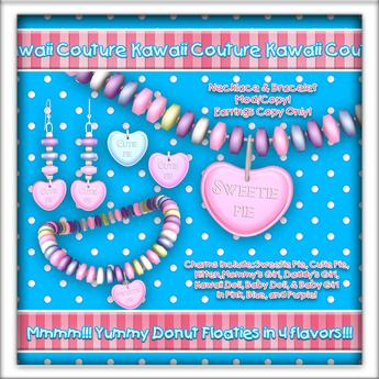 Kawaii Couture Candy Couture Jewelry Set