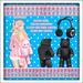 Kawaii Couture Bundle Up Bear Muff Set Black