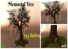 Memorial Tree with animated Fawn