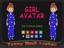 CARTOON GIRL AVATAR