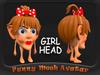 HEAD GIRL AVATAR