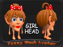 HEAD GIRL AVATAR