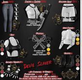 {Valentine}Devil Slayer Holster Belt RARE