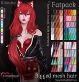 {Limerence} Kitsune hair-Fatpack(Mod)