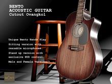 Bento Acoustic Cutout Guitar Ovangkol