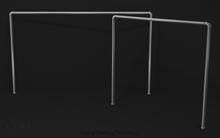 VEO// Clothes Rack v1 (silver)
