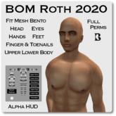 Blackburns BOM Roth 2020 Alpha HUD