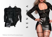 Seniha. Stefania Set // Black
