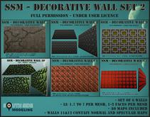 SSM - Decorative Wall Set 2
