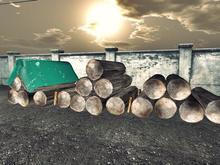 Wood Stack - Mesh - 1 prim each - 4 models