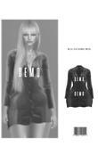 Bella Silk Blouse Dress [DEMO] HG, BBL, 9S JESSICA, KATENA REGULAR, EBODY CURVY, LARA  ::Kloss::