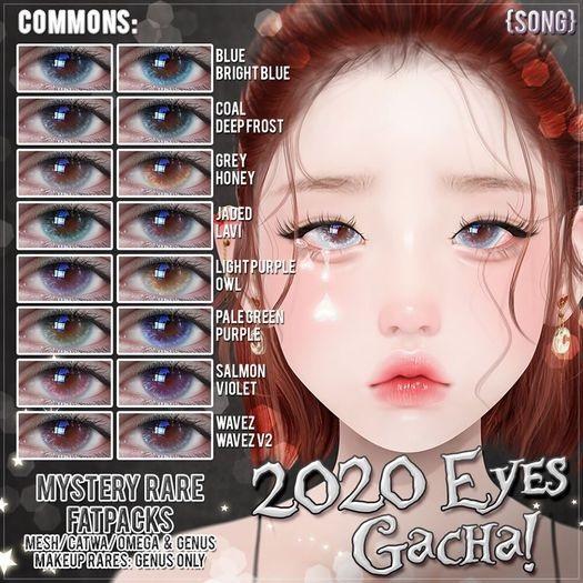 {S0NG} 2020 Eyes (M-Rare 01)