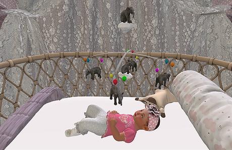 CJ Music Box Baby Lullaby - little Elephant