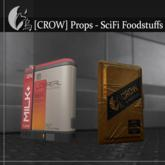 [CROW] Props - SciFi FoodStuffs