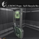 [CROW] Props - SciFi Recycle Bin