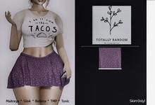 =TR= violet Lovely Stacy skirt hanger ( ADD/ Click to unpack
