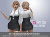 [WY]Full Perm 325 Short skirt