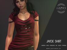 [JUSTICE] JAYDE SHIRT - FATPACK - WEAR ME
