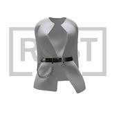 RUST REPUBLIC [crystal] jacket white