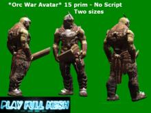 **Orc War 2 Sizes**PlayFullMesh