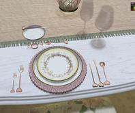 <Aphrodite> Princess choice - Place setting  (Boxed)