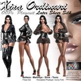 *XO* OOPs Playsuit FATPACK Latex Sheer Silk