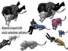 Lying Animesh Leopard with avatar animations 70% discount