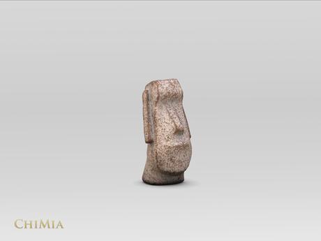 ChiMia:: Moai Head Statuette [Rough Painted]
