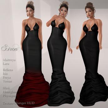 .:FlowerDreams:.Siren Gown -  blacks