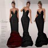 .:FlowerDreams:.Siren Gown -  blacks
