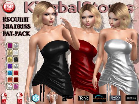 KS OUTFIT MIA DRESS FAT-PACK