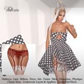 .:FlowerDreams:.Valeria Dress & Underwear Set 1 - Demo