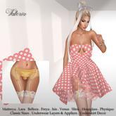 .:FlowerDreams:.Valeria Dress & Underwear Set 5