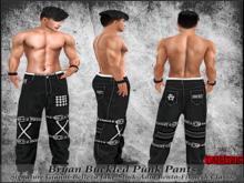 Tastic-Bryan Buckled Punk Pants