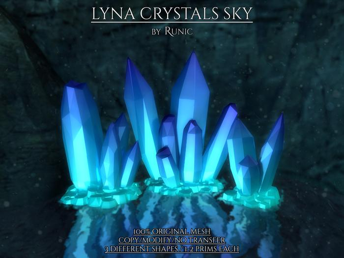 .: Runic :. Lyna Crystals Sky