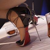 Roma Black Patent Shoes