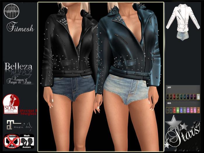 Stars - Maitreya, Belleza, Slink - Allison jacket &shorts