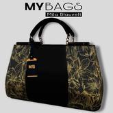 MY BAGS by Mila Blauvelt MY TOKYO BLACK