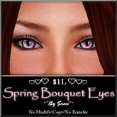 ~*By Snow*~ Spring Bouquet Eyes (Dollarbie)