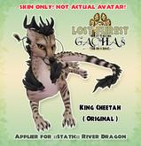 Lost Furest Applier for ::STATIC:: River Dragon - ORIGINAL King Cheetah