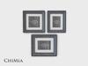 ChiMia:: Metallic Photo Frames