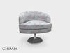 ChiMia:: Francine Accent Chair (PG) [S1 Rose Pair]